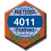 NSTISSI 4011 training badge