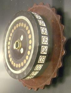 Crypto machine rotor