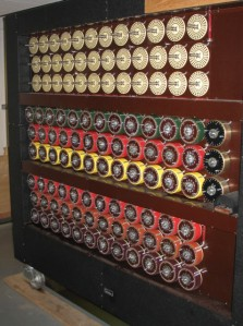 One of Turing's Bombe devices