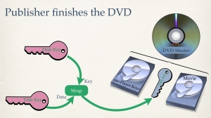 DVD Crypto video sample frame