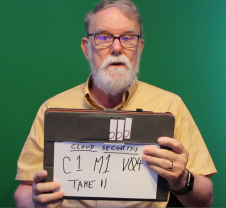 Rick's home made video clapper board
