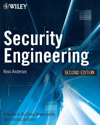 Security Engineering, by Ross Anderson