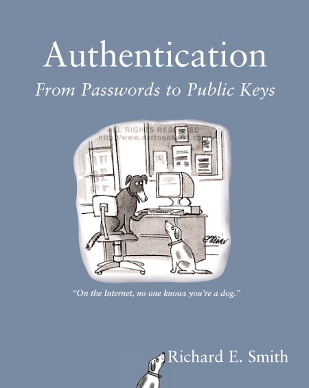 book cover - Authentication from Passwords to Public Keys
