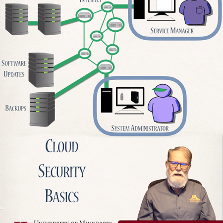 Video image from Cloud Security course